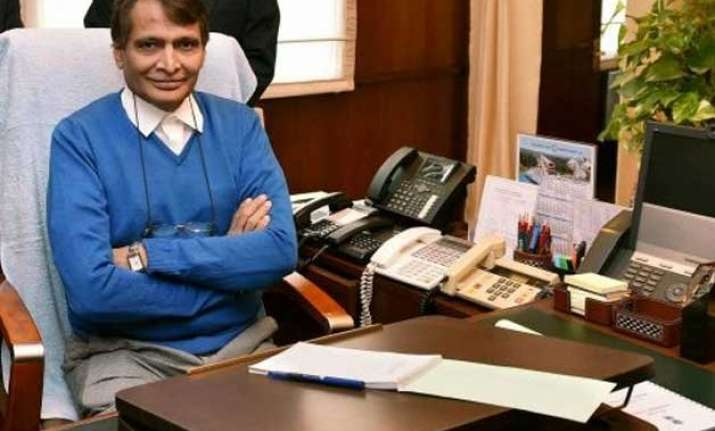 suresh prabhu to launch three trains for bihar bengal