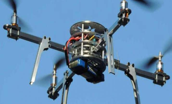 now drones to be used to disperse mobs
