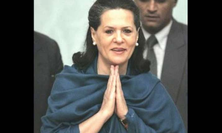 sonia all set to be congress president for record fourth