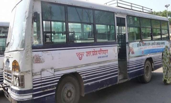 accident by up roadways bus man gets over rs 29 lack