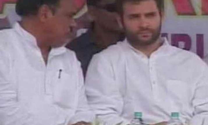 rahul visits vedanta site backs tribals