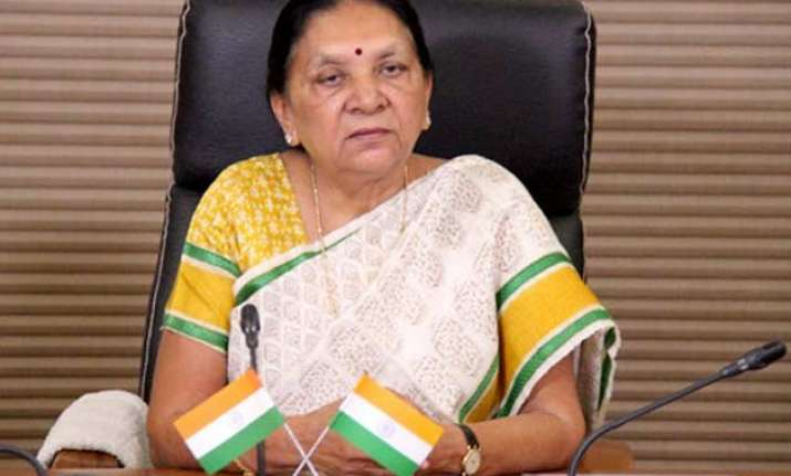 anandiben patel meets chinese delegation invites them to
