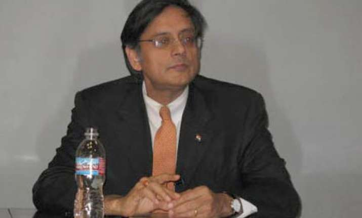 stop embarrassing us congress tells tharoor
