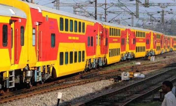 railway to soon run mumbai goa double decker shatabdi