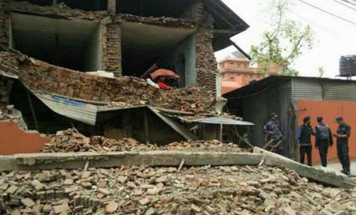 two aftershocks felt in india nepal