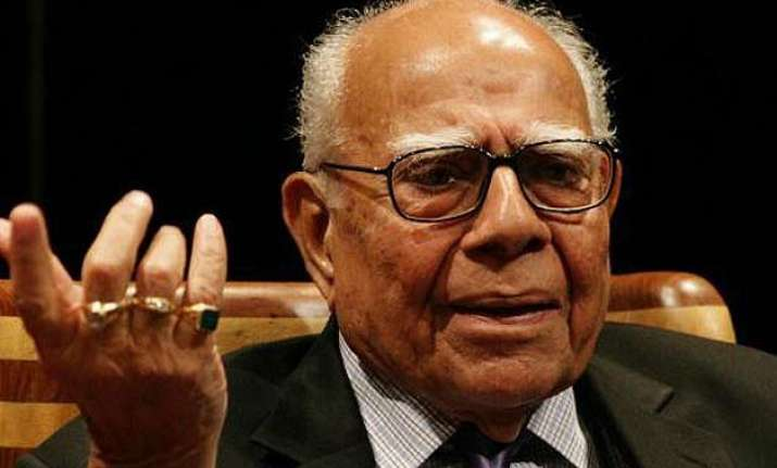 nda govt politicising judicial appointments jethmalani to