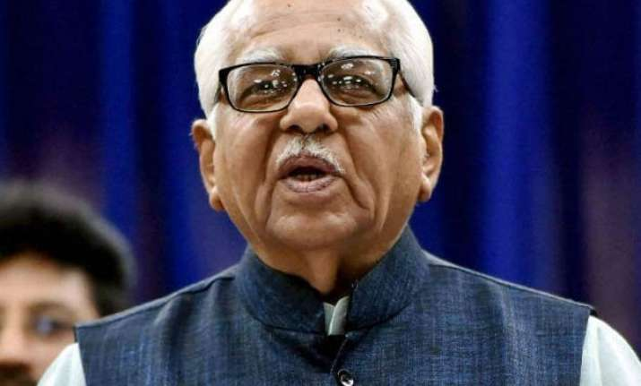 up governor ram naik admitted to hospital