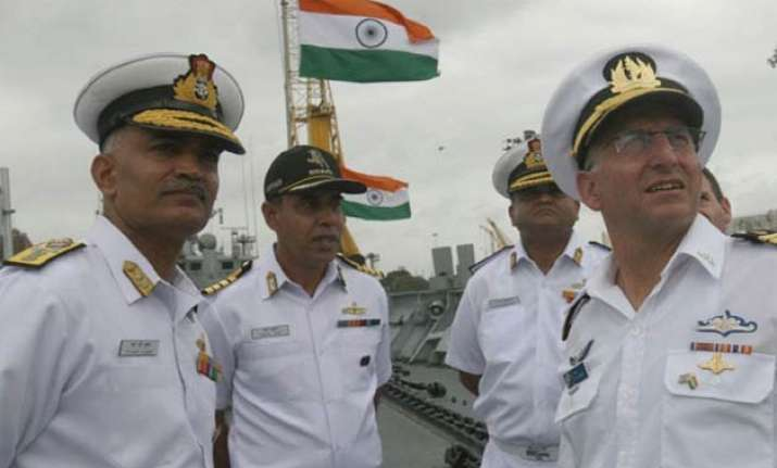 israeli navy chief visits western naval command in mumbai