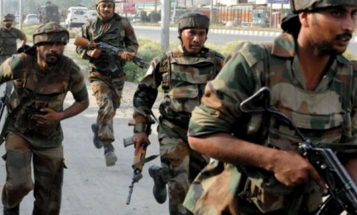 assam 1 militant killed 4 persons injured in crossfire