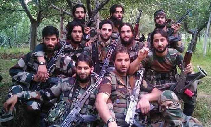 11 j k militants upload photos on facebook as amarnath