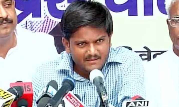 hardik patel arrives in delhi to seek support of jats and