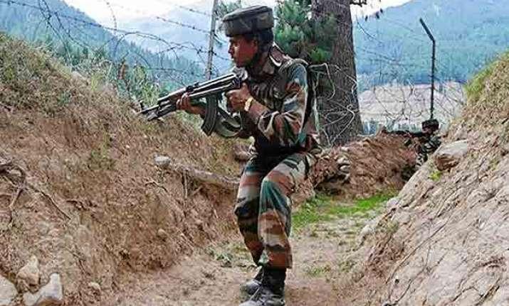 india pakistan trade fire on international border in jammu