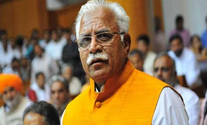 haryana cm underlines plans for better infrastructure at