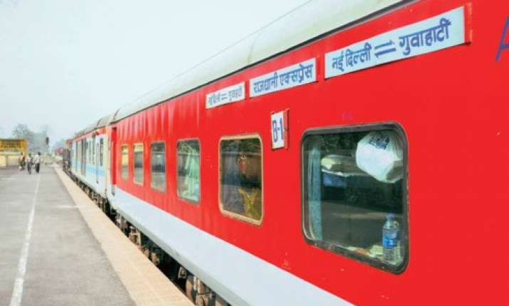 train services disrupted due to rail blockade