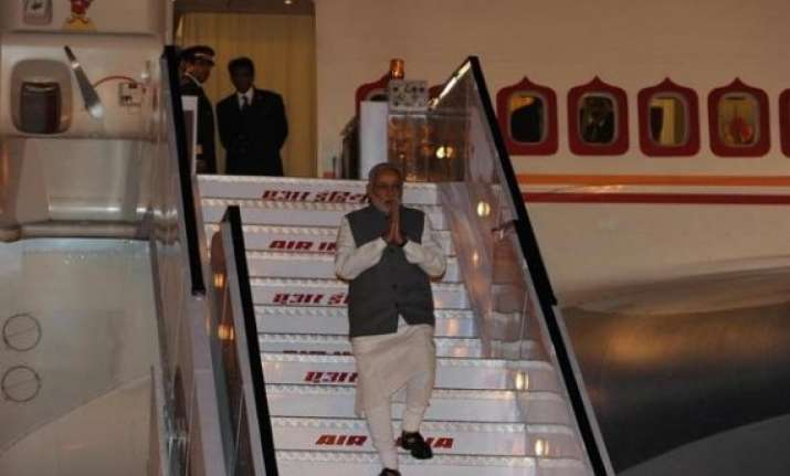 pm returns home after hectic us visit