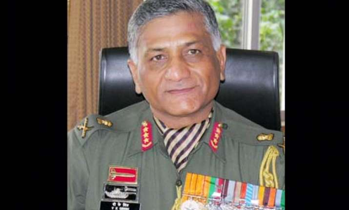gen v k singh first commando to become army chief