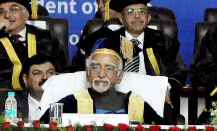 our constitution is premised on rule of law hamid ansari