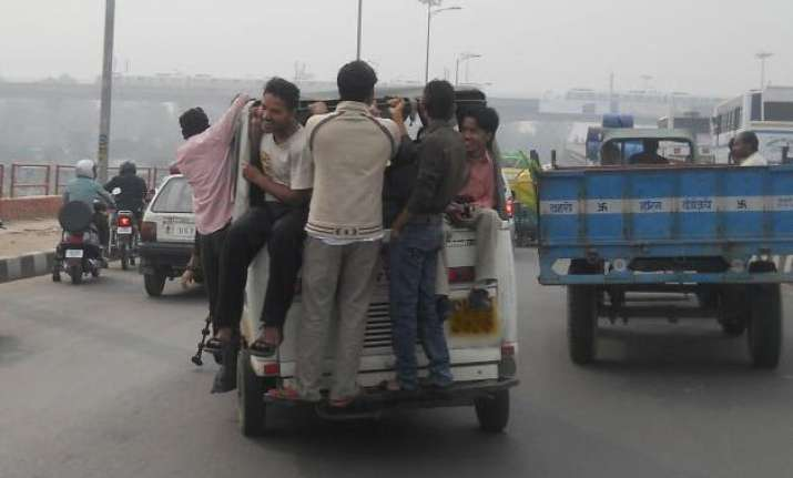 overloaded gramin sewa autos unstable threat to safety hc