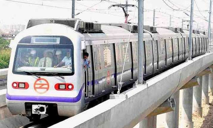 dmrc applies for safety clearance of badarpur faridabad