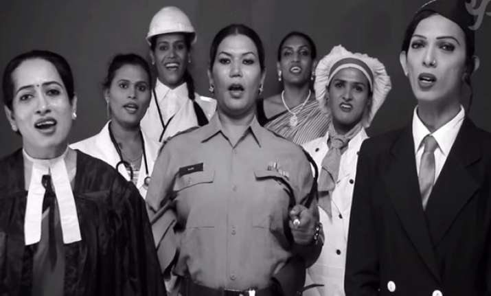 watch video transgenders singing jana gana mana will give