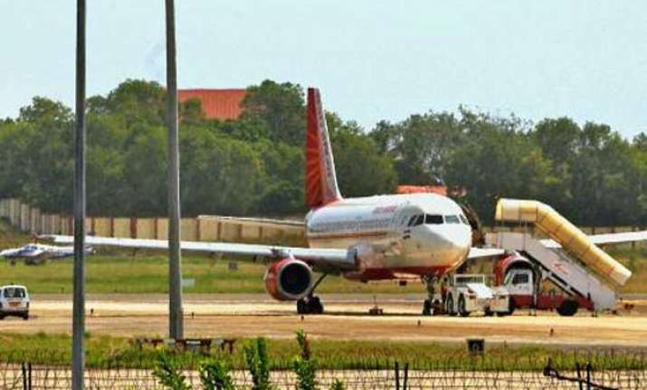 air india plane s tyre bursts on landing at kochi