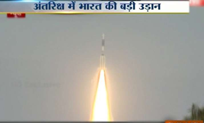 isro successfully places gsat 6 in geosynchronous orbit
