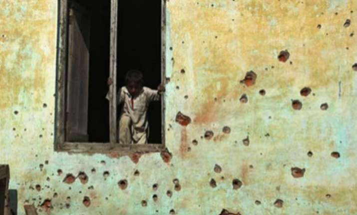 pakistan targets border villages with mortar bombs four