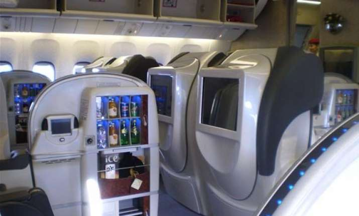 to cut costs government bars first class air travel for