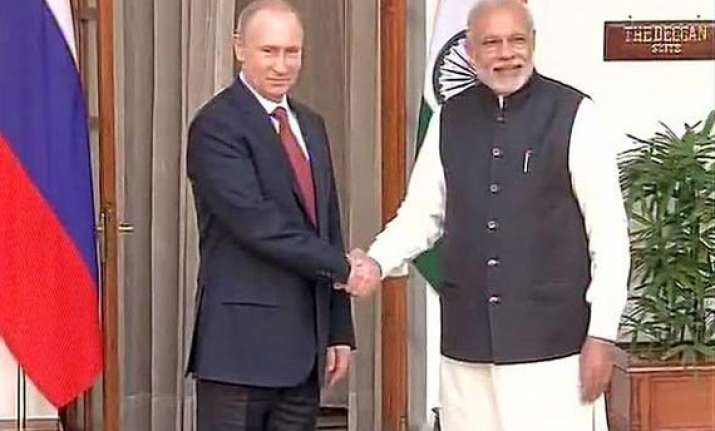 putin modi summit to focus on strengthening strategic