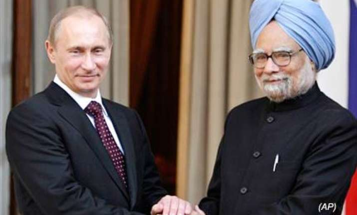 we don t have military ties with pak because of india putin