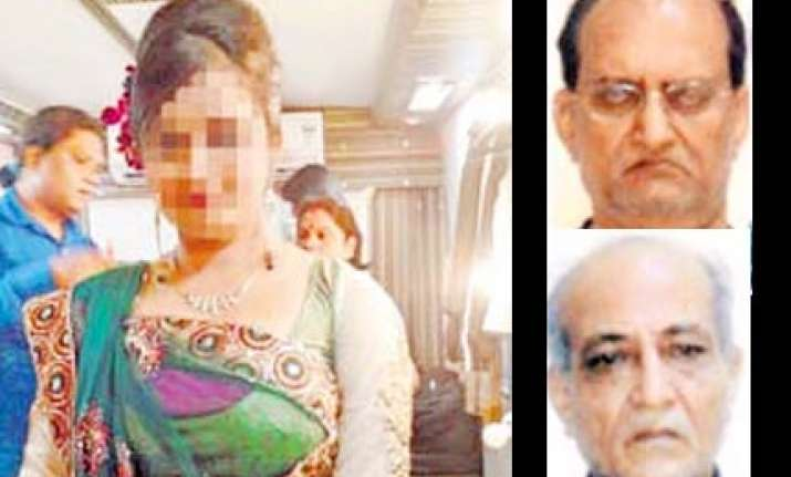 aspiring actress accuses two mumbai businessmen of rape and