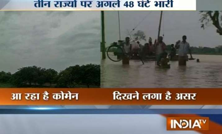 cyclone komen brings heavy rains in bengal odisha