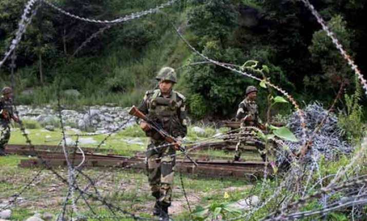 2 civilians injured as pak targets 14 indian outposts in