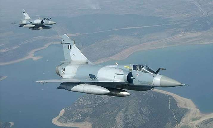 two upgraded mirage 2000 handed over to india in france