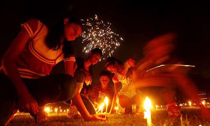 india celebrates festival of lights