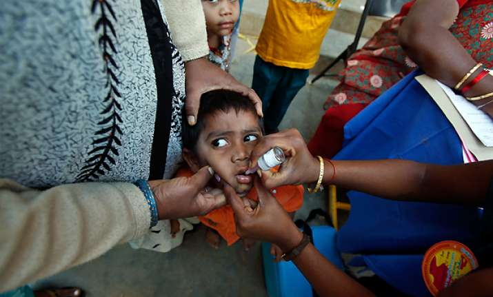 india close to wiping out polio