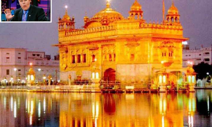 india objects to jay leno s remark on golden temple