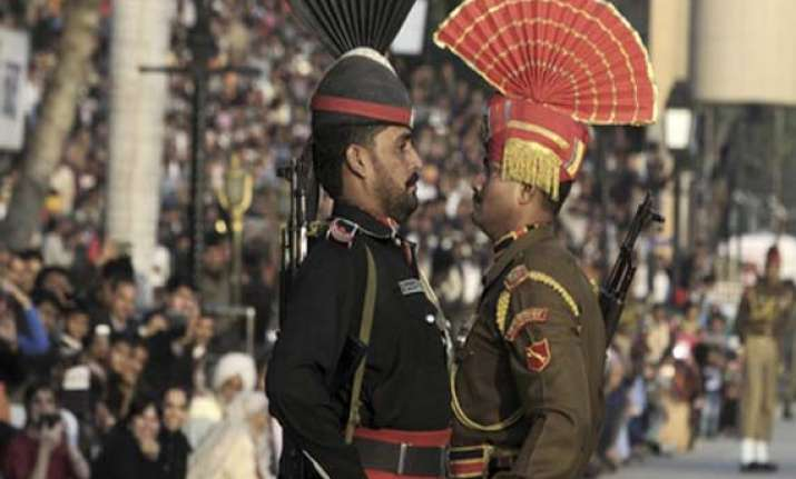 fresh firing by pak troops ahead of flag meeting