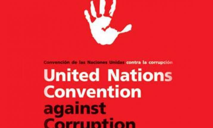 india ratifies un convention against corruption