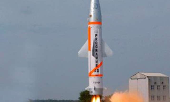india test fires interceptor missile