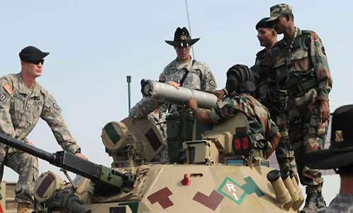 india us start military exercises in rajasthan desert