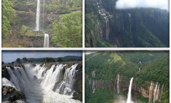 india s top 10 highest waterfalls
