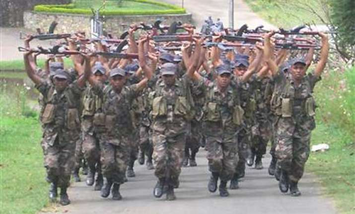 india training sri lankan military