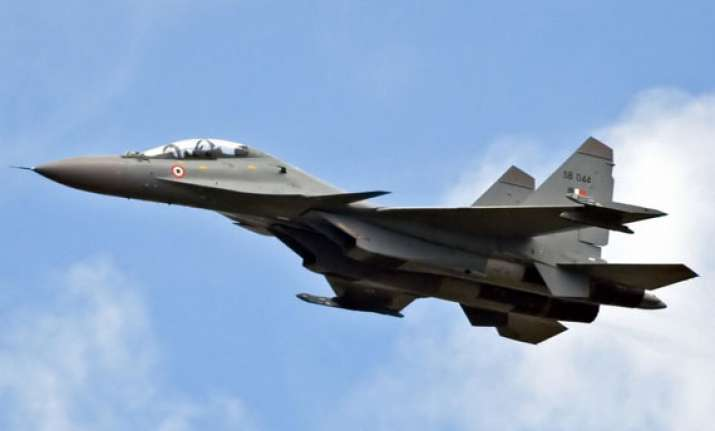 indian air force scrambled su 30mki fighter as ufo moved