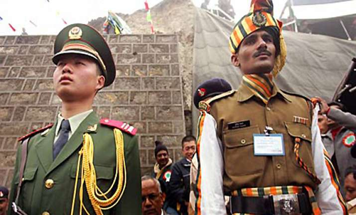 indian chinese troops exchange beer rasgullas after face