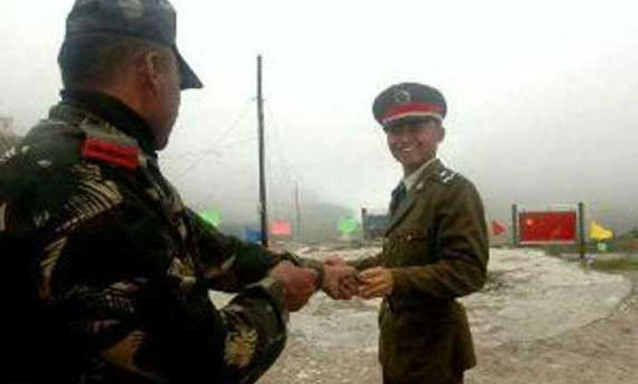 indian chinese soldiers celebrate bihu on lac