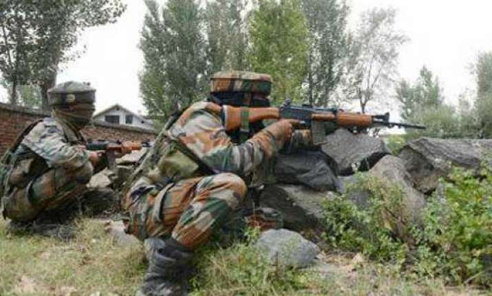 indian pak soldiers fire on loc near poonch pak dgmo seeks