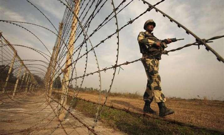 indian pak troops exchange fire across loc in jammu region