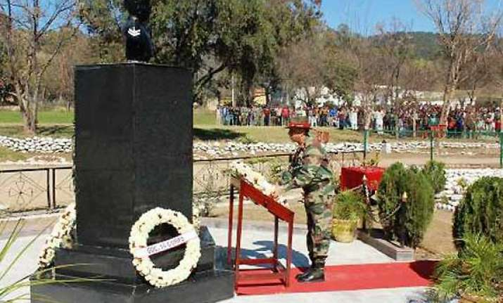 indian army remembers heroes of naoshera victory in 1948 war