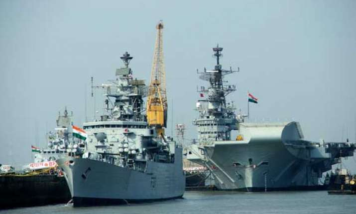 indian warships in russia for naval wargames
